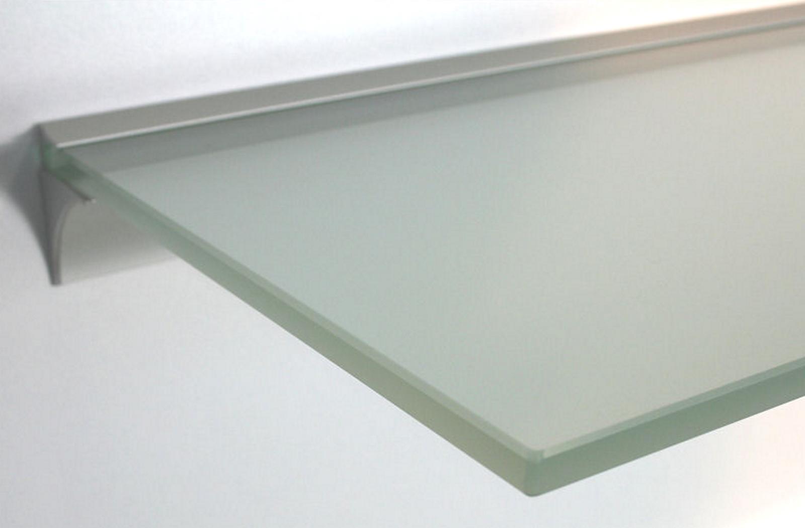 Beliebt Glasregal 10 mm satiniert mit Wandprofil LINO10 ➤ Regale4You VK11